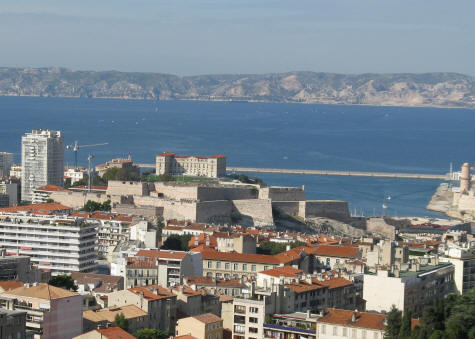 Fort Saint Nicolas in Marseille France