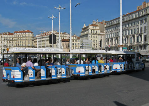 marseille tourist train vieux port to the basilica. Black Bedroom Furniture Sets. Home Design Ideas