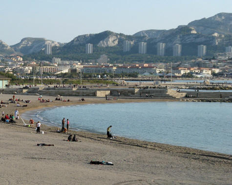 prado beaches in marseille france plages du prado. Black Bedroom Furniture Sets. Home Design Ideas
