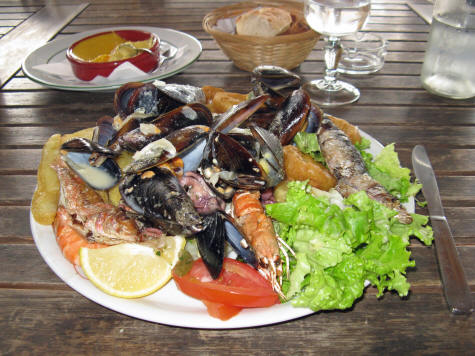 Seafood in Marseille France